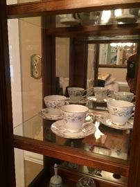 Bone china teacups