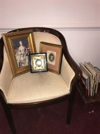 CHAIR, VICTORIAN ART