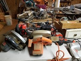 Miscellaneous hand and power tools