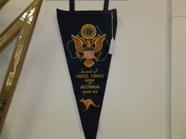 WWII...Nicest condition pennant I've ever seen!