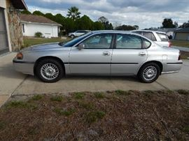 2002 Chevy Impala - Silver 84,770 Miles