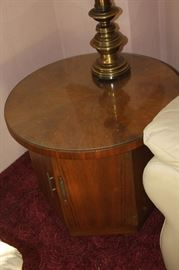 Mid century end table