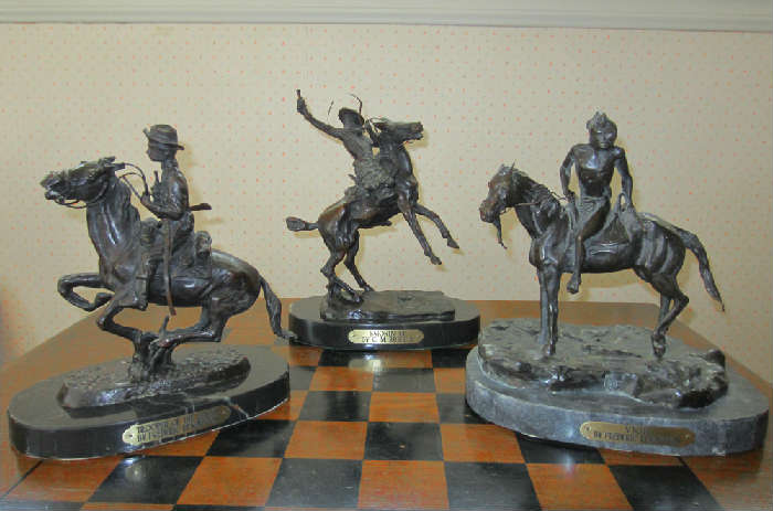 Remington bronzes