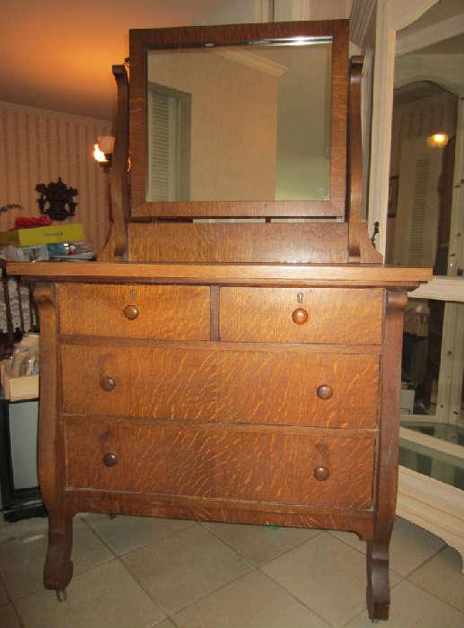 Quarter sawn Oak furniture