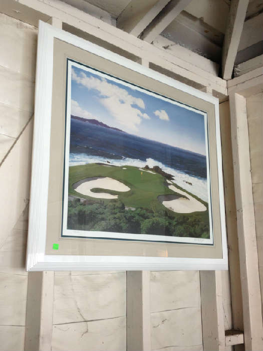 Danny Day numbered print  50/1000 Pebble Beach