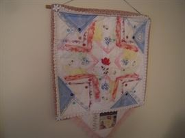 quilted wall hanging