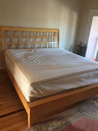 Modern Maple King Size Bed
