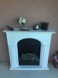Fireplace electric heater.  This is one of three