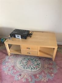 Modern Maple Wood Tv Stand or Coffee Table