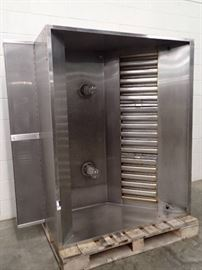 Captiveaire 60in Wide Stainless Hood w/ Return Air