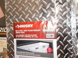 Husky Diamonmd Plate Truck Box