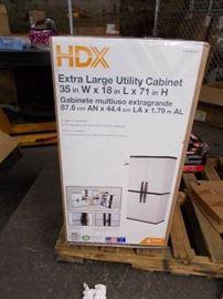 HDX Garage Cabinet