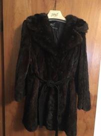 Albert Mink Coat!