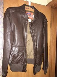 Men's Leather Jacket!