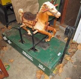 """""""Ride The Bronc"""" - Electric Pony Ride! WORKS! Over ..."""