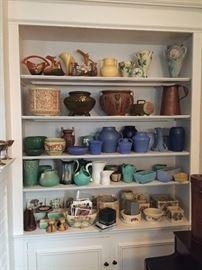 Roseville, Weller, McCoy, Clifton Art Pottery