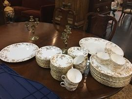 Minton Ancestoral Buy it Now $400 OBO 12 Piece place setting with 2 serve dishes plus extra's