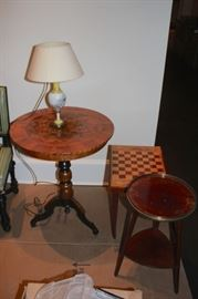 Assorted Side Tables and Benches