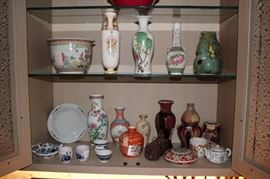 Variety of Chinese Decorative Items