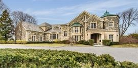 Over-sized Mansion with partial quality contents