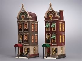 "Offered is a lot of 2 Christmas in the City houses from Department 56: ""Beekman House"" and ""Pickford Place"". The boxes show normal shelf wear but the pieces are undamaged. The lighting units have not been tested. Please see the photos at completeset.com for details."