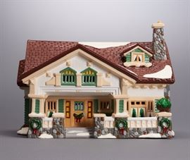 Offered is a hand painted piece from The Original Snow Village by Department 56. The box shows normal shelf wear but the porcelain is undamaged. This item is sold as-is; the lighting is untested. Please see the photos at completeset.com for details.