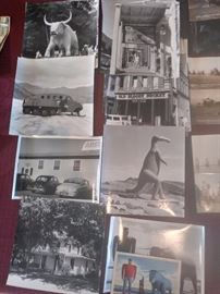 Early black and white photography of the west