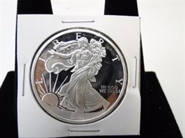 1 oz Silver Round Liberty style