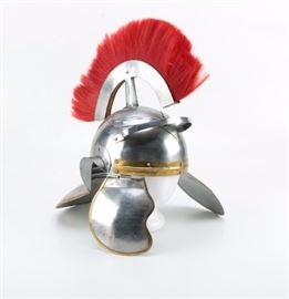 Roman Legionary Helmet Replica   https://www.ebth.com/items/7399171-roman-legionary-helmet-replica