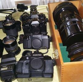 Contax camera bodies