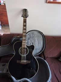 Takamine 12 string acoustic guitar