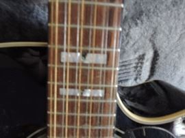 Takamine 12 string acoustic guitar fret