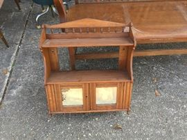 Cabinet with keys