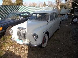 1955 MG Magnette 4-door