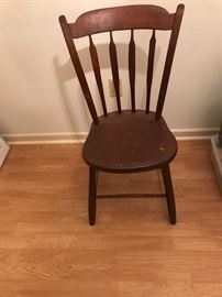 Chair circa 1750-1780