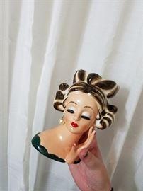 Ceramic Ladies Head