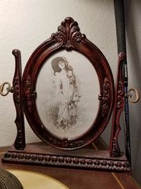 Victorian picture and frame