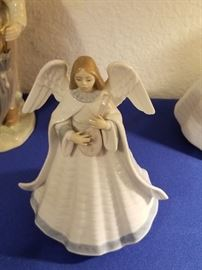 Lladro Angel, new with box, one of a set of three