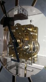 gears on Howard Miller clock Designed by George Nelson