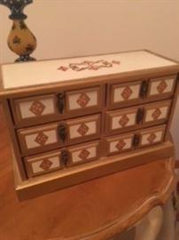 Vintage Jewelry Box.