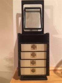 Bakelite Like, Vintage Jewelry Box.