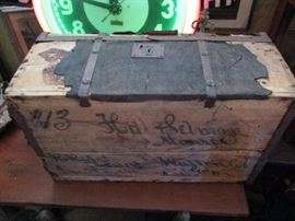 Monroe Civil War Chest