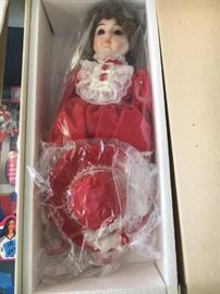 Holly By The Gorham Doll Collection, NIB.