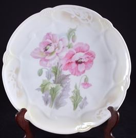 Lot 2: German Floral Porcelain Charger