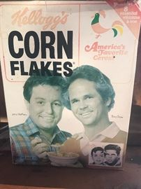 "Collectible ""Leave It To Beaver""  Corn Flakes Unopened"