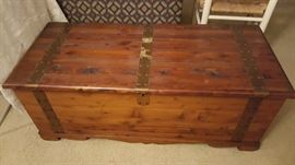 arts and crafts cedar chest