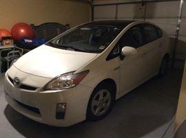 2010 Toyota Prius      61,000 miles