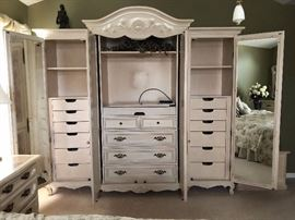 Custom Craft King Bed set