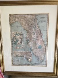 Wonderful old map of Florida