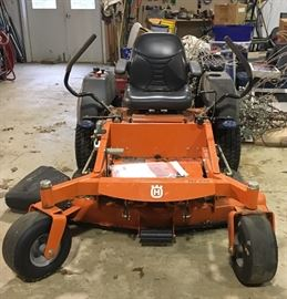 Zero Turn Husqvarna Mower - MZ54S -  Commercial Frame, Mower 35 Hours - New Deck 54 inch- 10 Hours